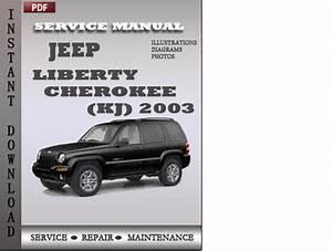 Jeep Liberty Cherokee 2003 Factory Service Repair Manual