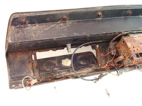 1966 Chevelle Heater Fuse Box by 1966 Chevelle Tach And Dash Assembly Original Gm Used
