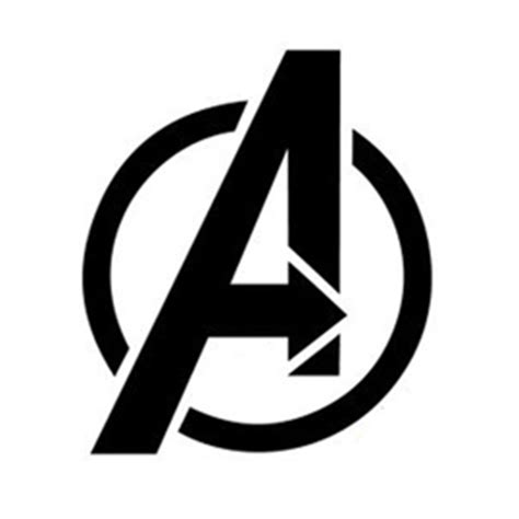 avengers logo stencil  stencil gallery
