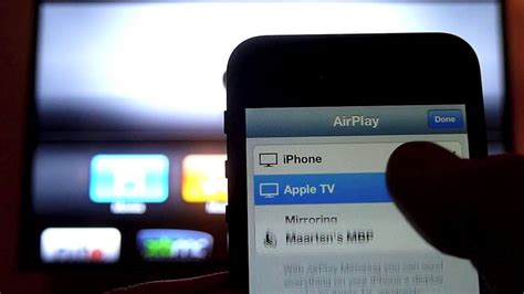 where is airplay on iphone 5 iphone 5 airplay mirroring on apple tv 2