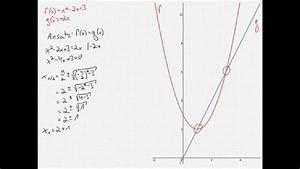 Schnittpunkte Von Funktionen Berechnen : schnittpunkte von parabel und gerade berechnen doovi ~ Themetempest.com Abrechnung