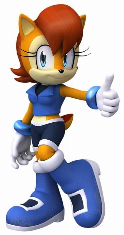 Sally Acorn Sonic Hedgehog Archie Redesign Boom