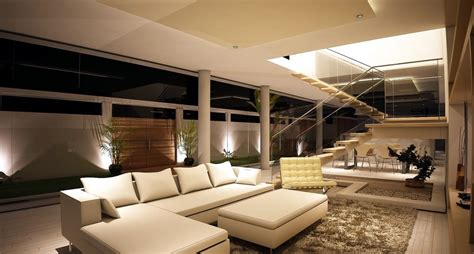 Spacious Modern Living Room Interiors by Spacious Modern Living Trends Interior Design Ideas