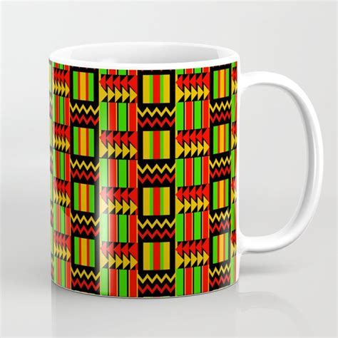 The vibrant acidity ranges from sparkling to tart African Print Coffee Mug by twahagraphical   Society6