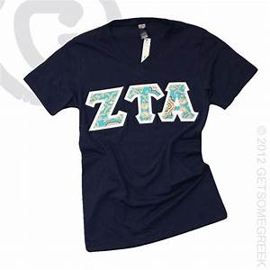 10 best letter shirts images on pinterest sorority life for Sorority sewn on letters