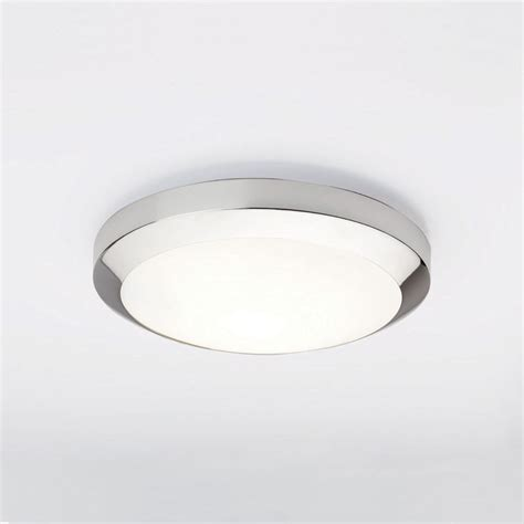 astro dakota 300 polished chrome ceiling light at uk