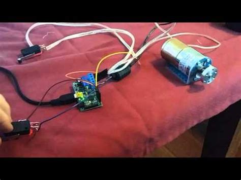 Motor With Limit Switches Youtube