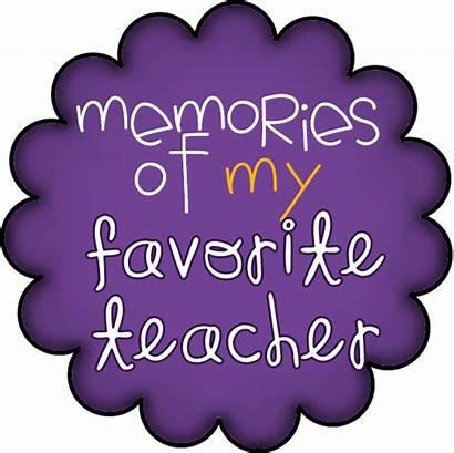 Teacher Favorite Memories Appreciation Teachers Piggy Clipart