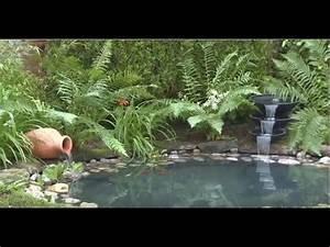 Jardin Avec Bassin : comment cr er un bassin de jardin avec liner jardinerie truffaut tv youtube ~ Melissatoandfro.com Idées de Décoration