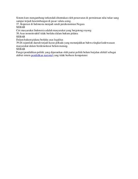 Ujian seleksi calon pegawai negeri sipil. Soal cpns pengetahuan umum