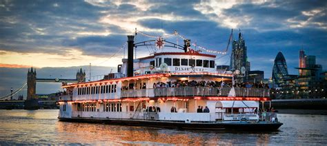 Party Boat Cruise London by Dixie Queen Boat Party River Thames London