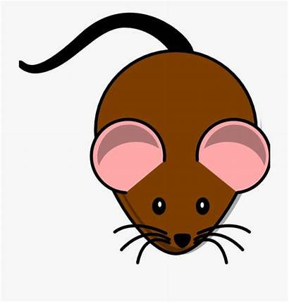 Mouse Brown Clipart Rat Cartoon Netclipart Minnie