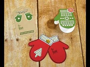 3 Cute Mitten Gift Tags made with the Smitten Mittens