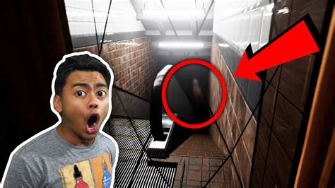 Ghost Spotted In Subway!