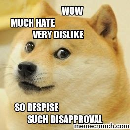 Wow Dog Meme - dog meme much wow memes