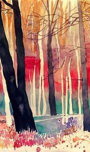 Colorful New Architectural Watercolors by Maja Wronska ...