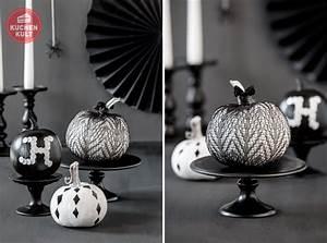 Kürbis Schwarz Weiß : halloween cakepops gruselige cakepops einfach selber machen ~ Orissabook.com Haus und Dekorationen