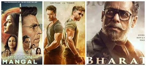 top  bollywood box office hits   kabir singh war