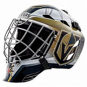 NHL Vegas Golden Knights Mini Goalie Mask - Bed Bath & Beyond