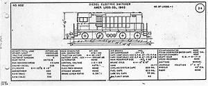Railroad Electric Locomotive Diagrams