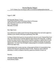 addressing a judge in a letter business letter format to