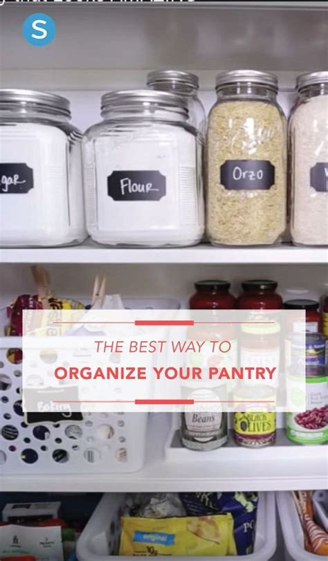 best way to organize kitchen pantry here s the best way to organize your kitchen pantry 9241