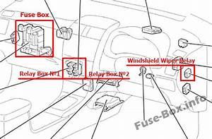 Fuse Box Diagram  U0026gt  Toyota Corolla  E140  E150  2007