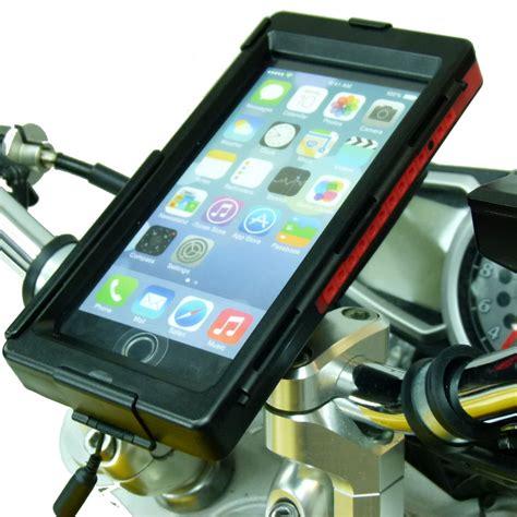 iphone 6 plus motorcycle mount tigra bikeconsole waterproof bike motorcycle mount for