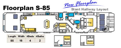 Houseboat Layout by Houseboats