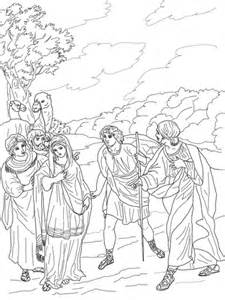 Inspired Picture Of Jesus Coloring Page