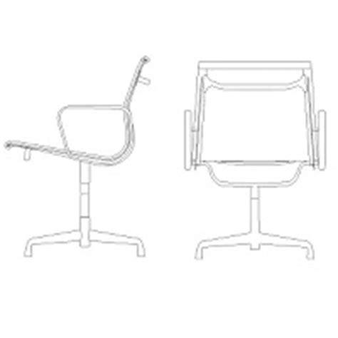 bureau dwg chaise de bureau élévation dwg blocscad com