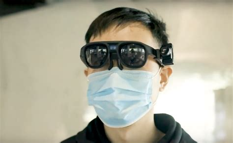 Chinese Ai Smart Glasses Check Temperature Of Hundreds Of