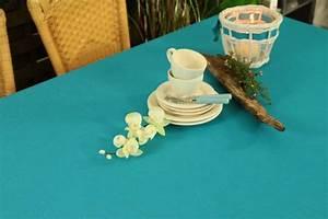 Tischdecken Für Draußen : gartentischdecke aqua blau uni breite 120 cm marina ~ Frokenaadalensverden.com Haus und Dekorationen