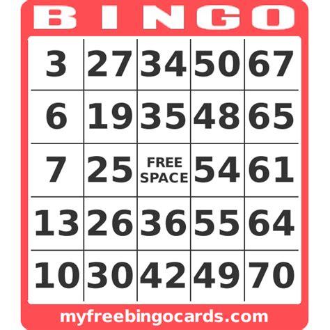 bingo template pdf free custom bingo card generator myfreebingocards