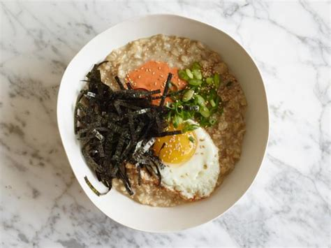 food network the kitchen recipes asian oatmeal breakfast bowl recipe food network kitchen