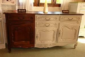 delicieux meuble repeint avant apres 0 meuble en bois With meuble repeint avant apres