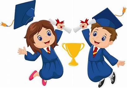 Graduation Clipart Preschool Cartoon Care Clip Getdrawings