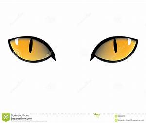 Cat eyes stock vector. Illustration of horror, evil ...