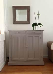 Leroy Merlin Peinture Meuble : meuble peint gris poivr n 4 leroy merlin meuble ~ Dailycaller-alerts.com Idées de Décoration