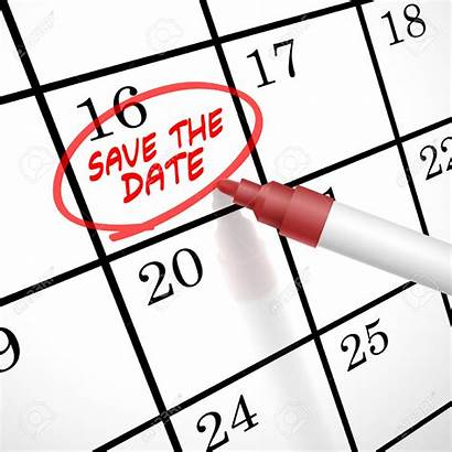 Date Save Calendar Clipart Clipground Marked Circle