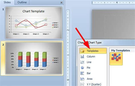chart templates  save time designing  charts