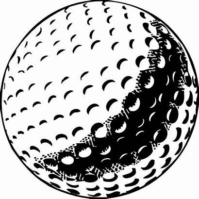 Golf Ball Clip Vector Clipart Golfball Clker