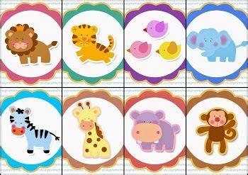 toppers de la selva para imprimir gratis animalitos safari cupcakes free printables y