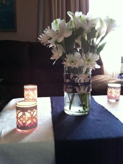 diy centerpiece vases and candles weddingbee photo gallery
