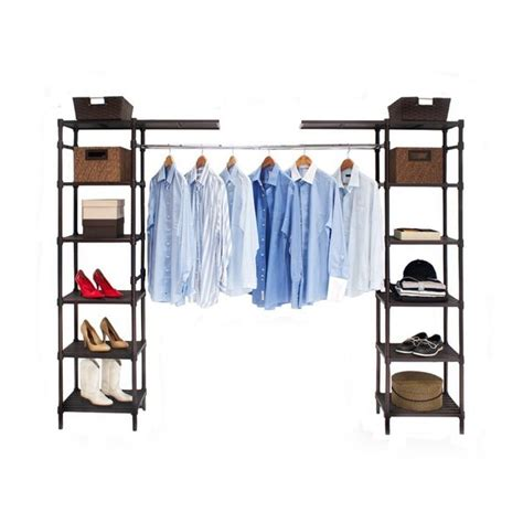 Seville Classics Expandable Closet Organizer by Seville Classics Expandable Closet Organizer System Free