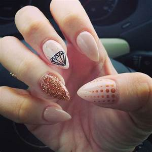 1) oval nails   Tumblr   We Heart It   Nails   Pinterest ...