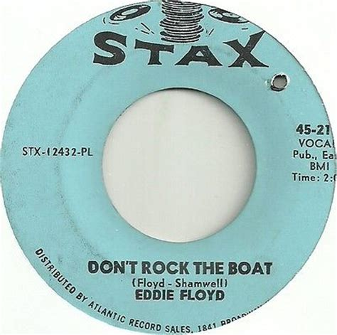 Eddie Floyd Don T Rock The Boat by Roots Vinyl Guide