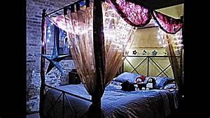 Sternenhimmel Schlafzimmer Selber Bauen : himmel f r himmelbett dekorative akzente f r eigene wohlf hloase youtube ~ Markanthonyermac.com Haus und Dekorationen