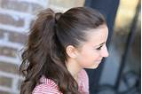 Hair Wrapped Ponytails Cute Girls Hairstyles Page 2