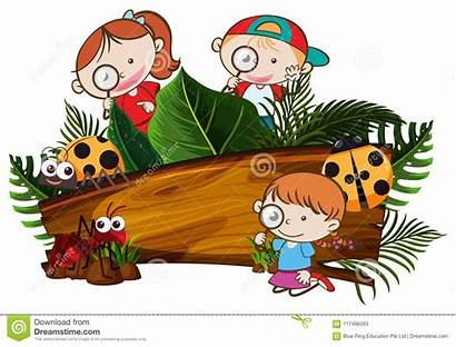 Exploring Nature Banner Illustration Outdoor